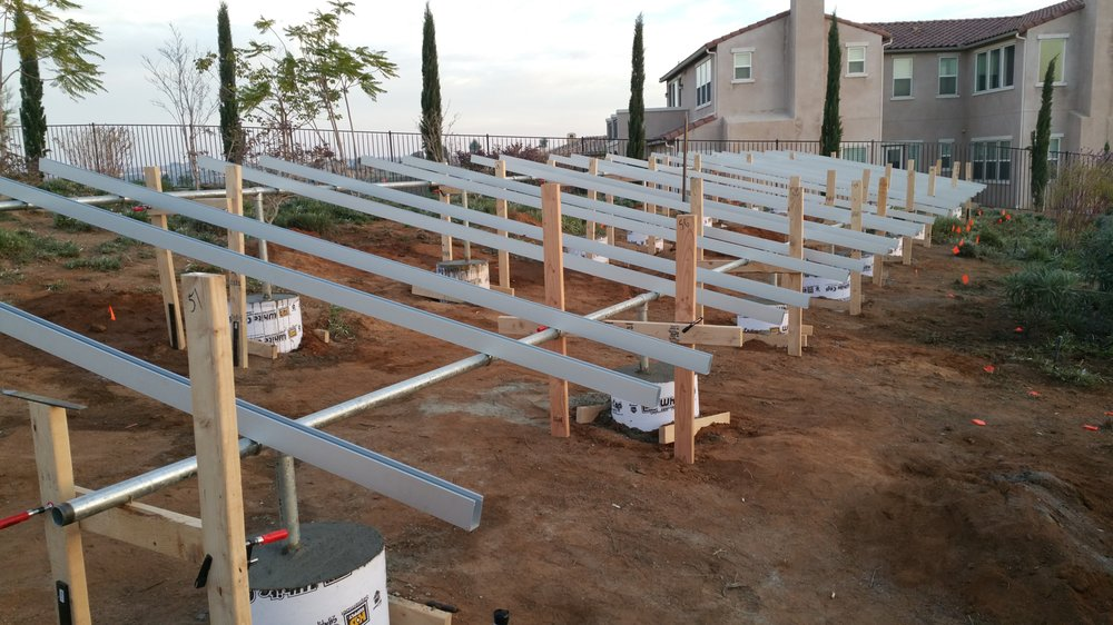 Ground Array Framing