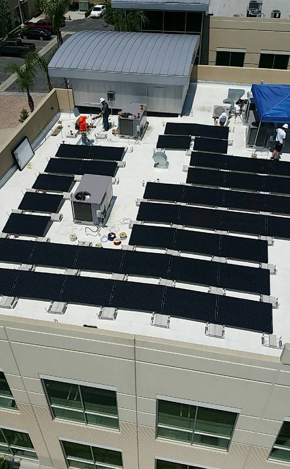 Commercial Rooftop Ballasted System