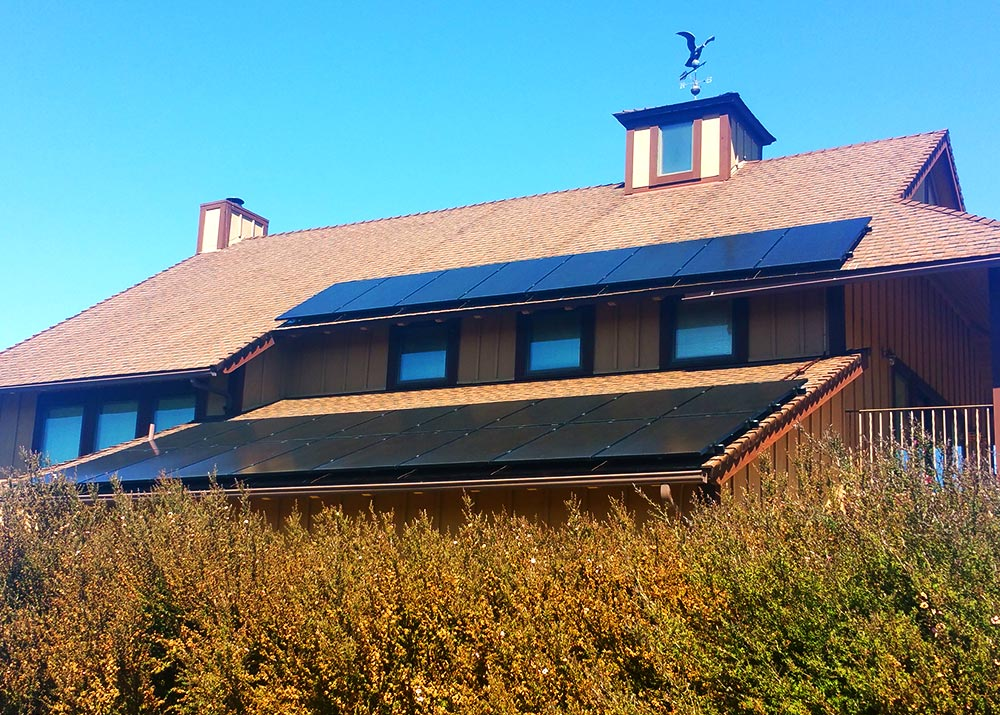 Dual Pitch Composition Shingle Roof
